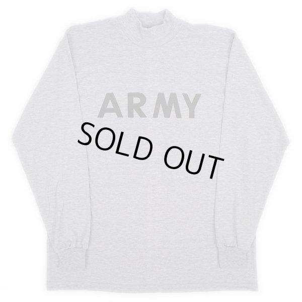 """画像1: US.ARMY IPFU モックネック L/S Tシャツ """"DEADSTOCK"""" (1)"""
