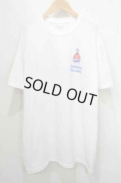 画像1: 新品 SHERWIN WILLIAMS ロゴプリントTシャツ (1)