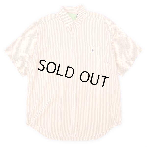 """画像1: 90's Polo Ralph Lauren S/S ボタンダウンシャツ """"BIG SHIRT"""" (1)"""
