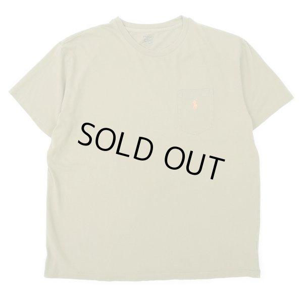 """画像1: 00's Polo Ralph Lauren ポケットTシャツ """"Olive Green"""" (1)"""