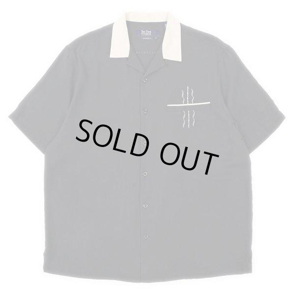 画像1: 90-00's Nat Nast S/S オープンカラー シルクシャツ (1)