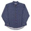 画像1: 90's Munsingwear 総柄 ボタンダウンシャツ (1)