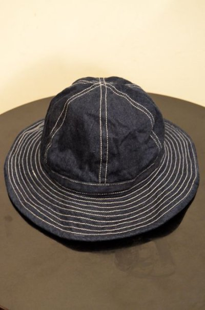 "画像1: ORIGINAL DENIM HAT ""sizeM"""