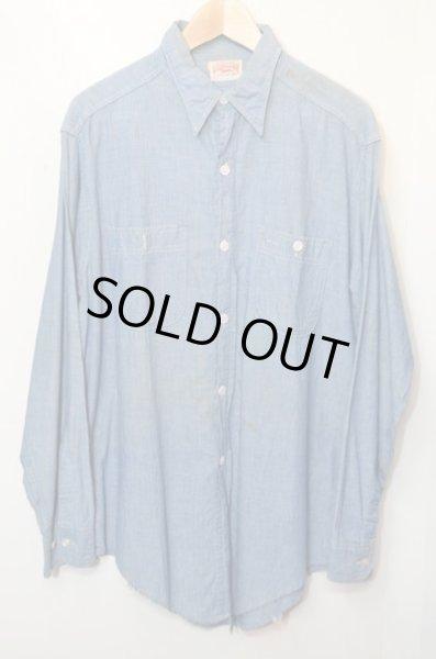 画像1: 50's〜60's WHIPPET シャンブレーシャツ (1)