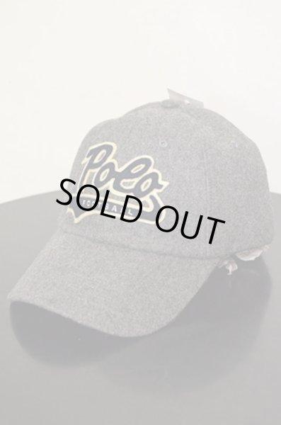 画像1: 新品 POLO Ralph Lauren SCRIPT LOGO WOOL CAP (1)