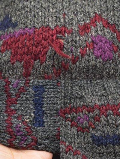 画像1: 90's POLO Ralph Lauren ハンドニットセーター