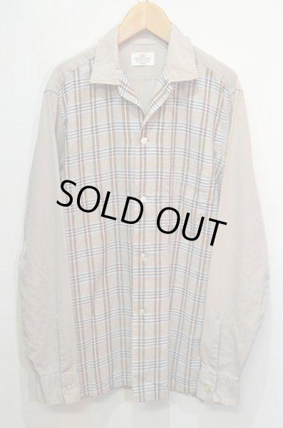 """画像1: 60's VAN HEUSEN オープンカラーシャツ """"フロントパネル柄"""" (1)"""