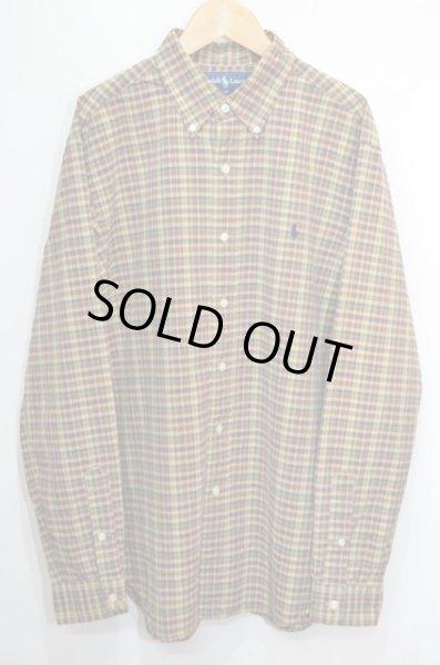 画像1: Polo Ralph Lauren チェック柄 ボタンダウンシャツ (1)