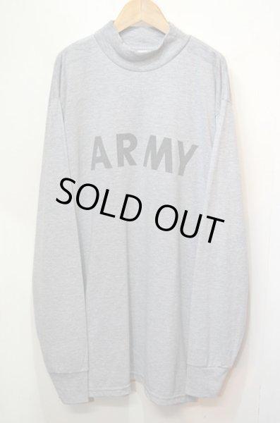 画像1: US.ARMY IPFU モックネック L/S Tシャツ (1)