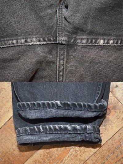 """画像1: 90's Levi's 550 ブラックデニムパンツ """"USA製"""""""