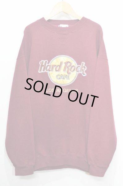 画像1: 90's Hard Rock CAFE スウェットシャツ (1)