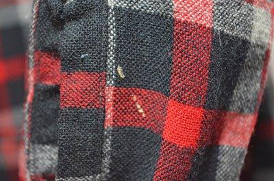 """画像1: 50's Woolverine ウールシャツ """"BLACKベース"""""""