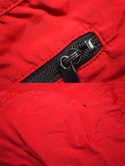 """画像1: 90's L.L.BEAN シンサレート入りアノラックパーカー """"単色RED"""""""