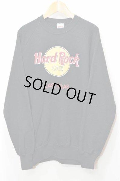 """画像1: 90's Hard Rock CAFE ロゴスウェット """"USA製"""" (1)"""