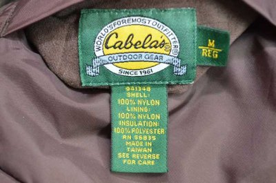 画像2: 90's Cabela's 迷彩柄 ライナー付きマウンテンパーカー