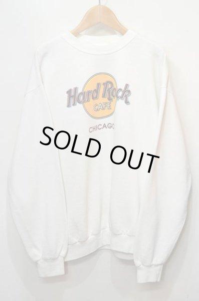 画像1: 90's Hard Rock Cafe ロゴスウェット (1)