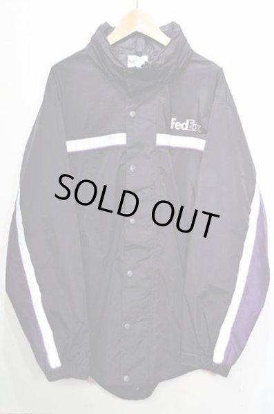 画像1: FedEx フィッシュテール ナイロンジャケット (1)