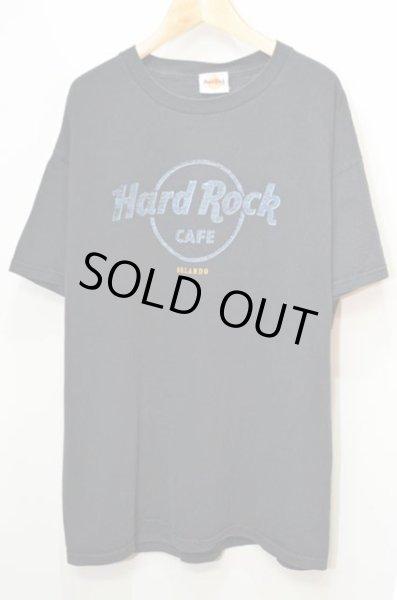 """画像1: Hard Rock CAFE ロゴプリント Tシャツ """"ORLANDO"""" (1)"""