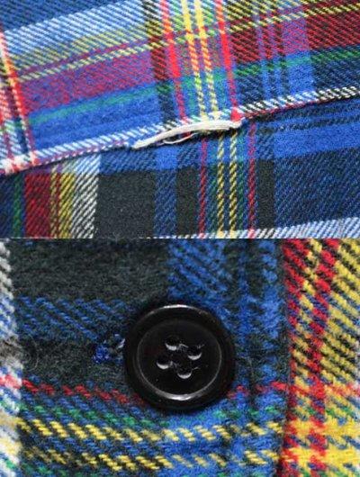 画像1: Polo Ralph Lauren チンスト付き ネルシャツ