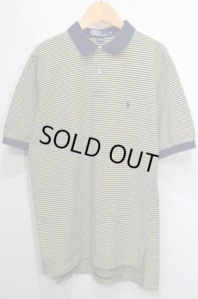画像1: Polo Ralph Lauren ボーダー柄 S/S ポロシャツ (1)