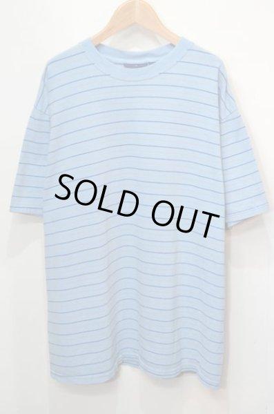 画像1: 90-00's Puritan ボーダー柄 Tシャツ (1)