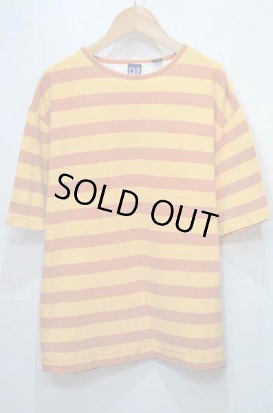 画像1: 90's OLD GAP ボーダーTシャツ (1)