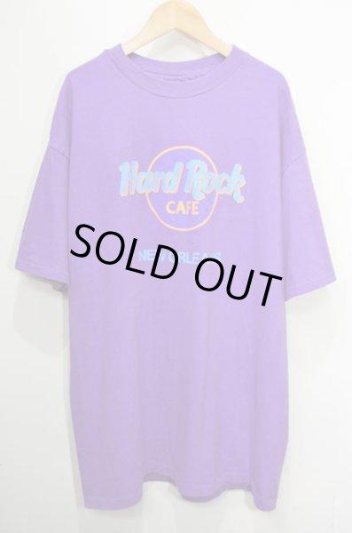 """画像1: 90's Hard Rock CAFE ロゴプリント Tシャツ """"MADE IN USA / NEW ORLEANS"""" (1)"""
