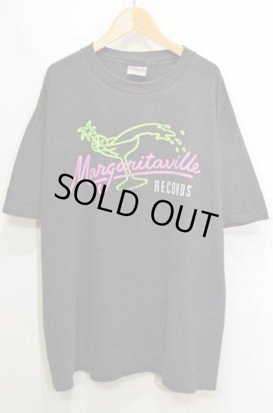 画像1: 90's Margaritaville RECORDS Tシャツ  (1)