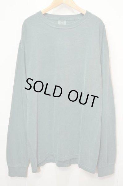 """画像1: 新品 COMFORT COLORS L/S Tシャツ """"GARMENT DYED / BLUE SPRUCE"""" (1)"""