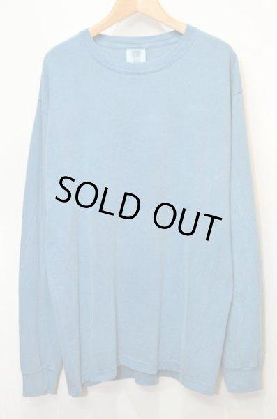 """画像1: 新品 COMFORT COLORS L/S Tシャツ """"GARMENT DYED / ICE BLUE"""" (1)"""