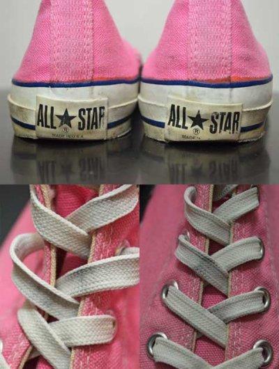 """画像2: 80's Converse ALLSTAR Hi-cut """"サイドステッチ / MADE IN USA"""""""