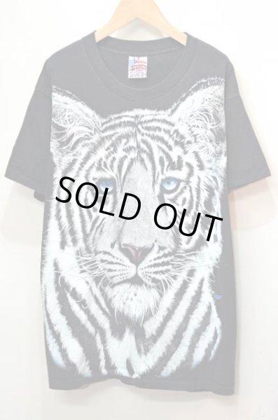 画像1: 90's Trinity Products アニマルプリントTシャツ (1)
