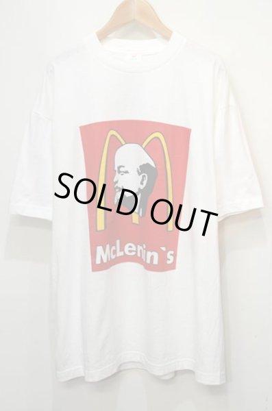 画像1: McLenins 両面プリントTシャツ (1)