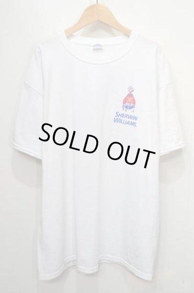 画像1: SHERWIN WILLIAMS ロゴプリントTシャツ (1)