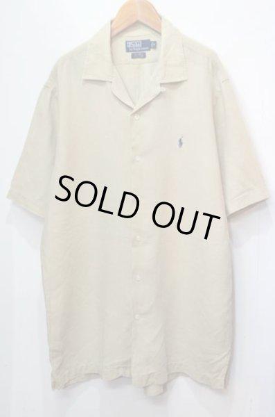 """画像1: Polo Ralph Lauren S/S オープンカラーリネンシャツ """"CALDWELL"""" (1)"""