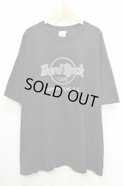 """画像1: Hard Rock CAFE ロゴプリントTシャツ """"WASHINGTON,D.C."""" (1)"""