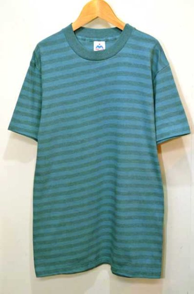 "画像1: 80-90's MILLER ボーダーTシャツ #2 ""MADE IN USA / DEADSTOCK"" (1)"
