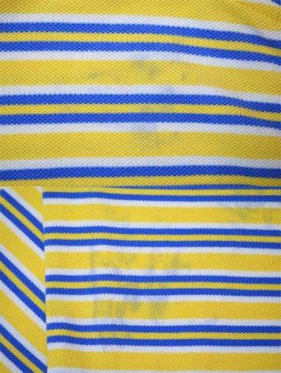 画像1: Polo Ralph Lauren マルチボーダー柄 S/S ポロシャツ