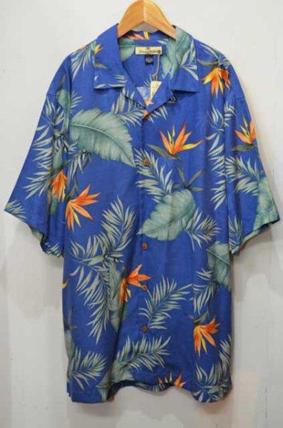 """画像1: Tommy Bahama S/S 総柄オープンカラーシャツ """"DEADSTOCK"""" (1)"""