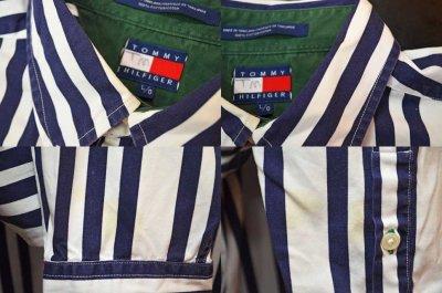 画像2: TOMMY HILFIGER マルチストライプ柄 ボタンダウンシャツ