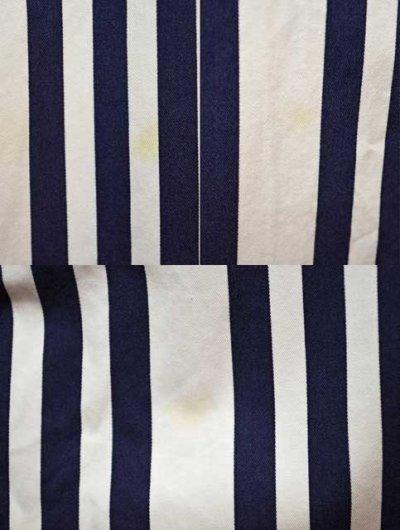 画像1: TOMMY HILFIGER マルチストライプ柄 ボタンダウンシャツ