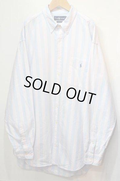 """画像1: Polo Ralph Lauren L/S ボタンダウンシャツ """"The Big Shirt""""  (1)"""