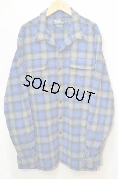 画像1: 90's Polo Ralph Lauren オープンカラーシャツ (1)