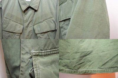 画像1: 60's US.ARMY ジャングルファティーグジャケット