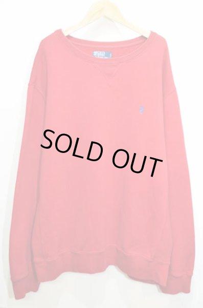 画像1: Polo Ralph Lauren リバースウィーブタイプ スウェットシャツ (1)