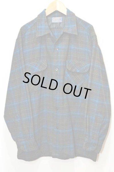 画像1: 60's PENDLETON ウールシャツ (1)