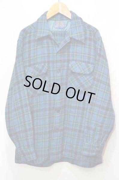 画像1: 70's Pendleton ウールシャツ (1)