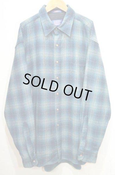 画像1: PENDLETON ウールシャツ (1)