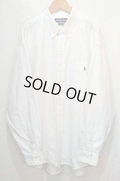 """画像1: 90's POLO Ralph Lauren ボタンダウンシャツ """"BIG SHIRT"""" (1)"""