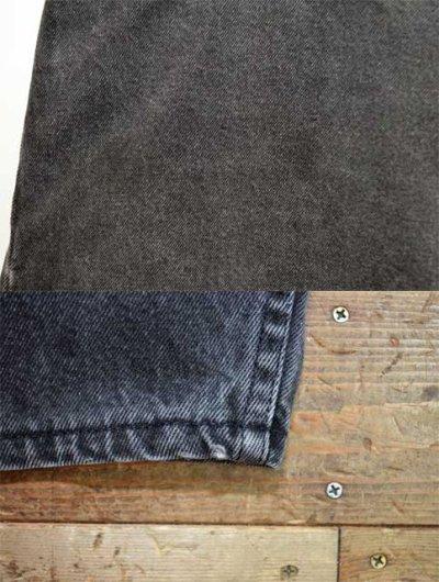"""画像1: 90's Levi's silverTab ブラックデニムショーツ """"MADE IN USA / W33"""""""